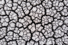 Crackled Earth Texture Of Dry ...