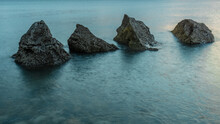The Four Sisters, At Sunrise. ...