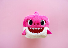 Adorable Pink Baby Shark Soft ...