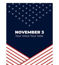 Your Voice Your Vote. 3 Nov 20...