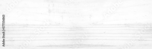 Fotografie, Obraz Wide Table top view of wood texture in white light panoramic background