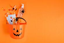 Halloween Jack O Lantern Pail ...