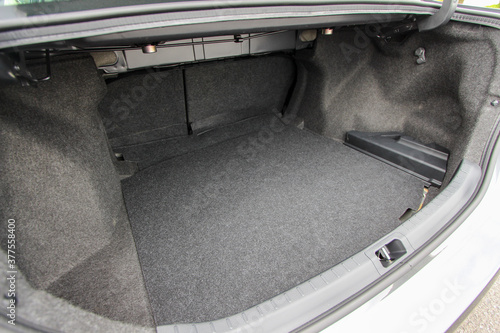 Fotografiet Empty sedan trunk