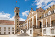 canvas print picture - Coimbra old university view