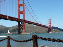 Golden Gate Bridge  With The O...
