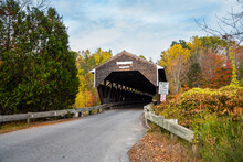 Historic Wooden Covered Bridge...