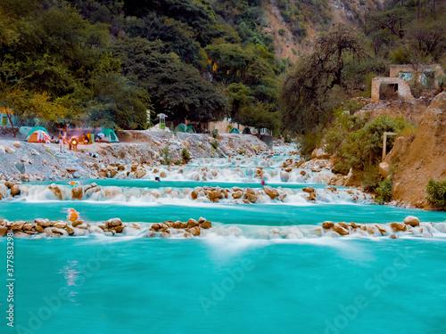 Rio Tolantongo, Hidalgo, México.