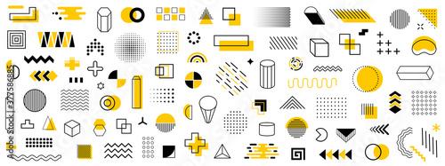 Fototapeta Set of geometric shapes