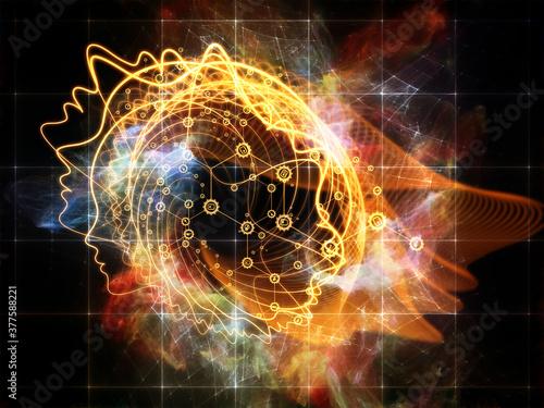 Fototapeta Consciousness Expanded obraz