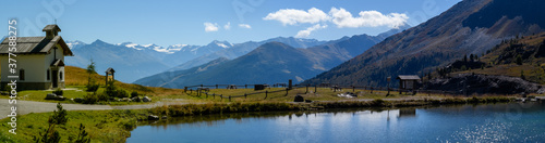 Fototapeta lago di montagna 01 -