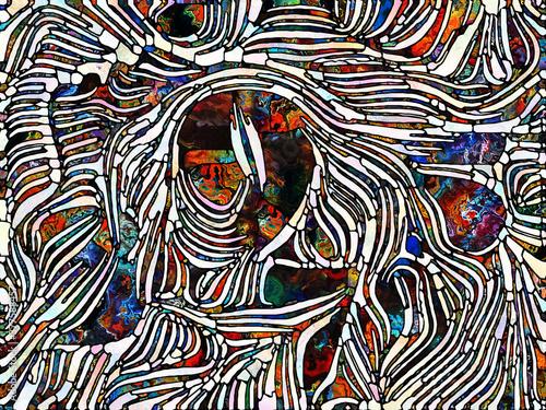 Fototapeta Energy of Stained Glass obraz