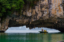 Entrance To Ha Long Bay Floati...