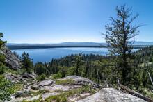 Inspiration Point, Jenny Lake,...