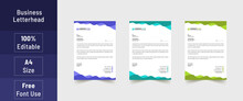 Letterhead Format, Business St...