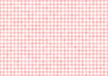 ギンガムチェック チェック柄 背景 テキスタイル 模様 ピンク イラスト