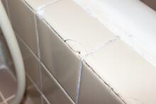 浴室のタイルのひび
