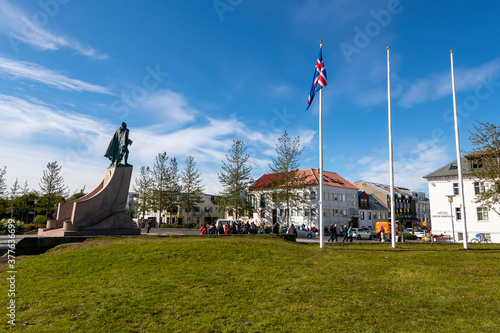 Fotografering Hallgrímskirkja Church, Reykjavik