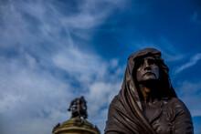 Statues Of Shakesperean Characters Stratford Upon Avon Warwickshire England UK