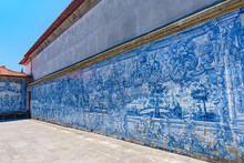 Azulejo Mural In Porto Cathedr...