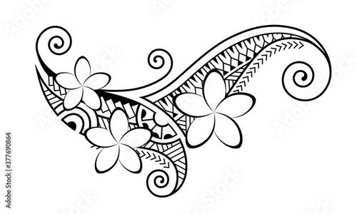 Photo Maori style tattoo