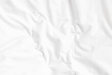 White Bed Linen Background Wit...