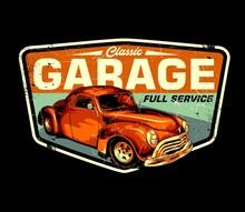 Classic Garage Retro Signs