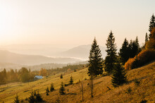 Autumn Evening In The Mountain...