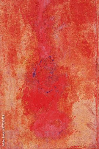elemento grafico rosso Wallpaper Mural