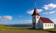 Eine Kleine Kirche Auf Den Wes...