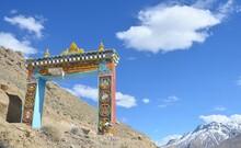 Gate Of Ancient Buddhist Monas...