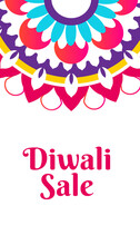 Diwali Sale Poster For Festive...