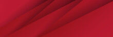Modern Red Black Abstract Vect...