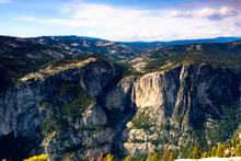 Yosemite Valley With Upper And...