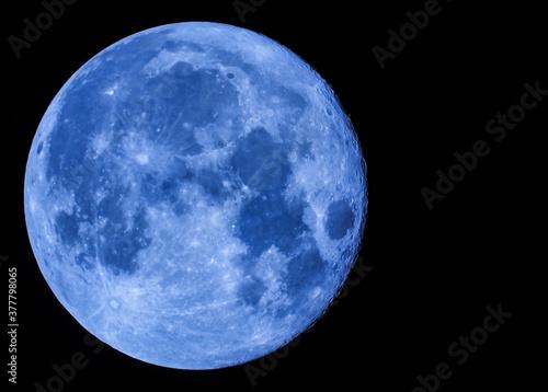 Canvastavla Full Moon in September 2020