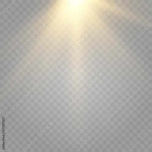 This illustration depicts light, lighting Canvas Print