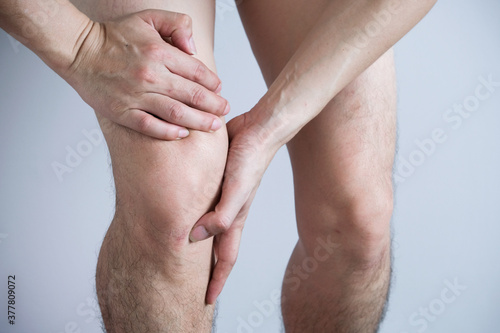 Fotografie, Obraz Knee pain
