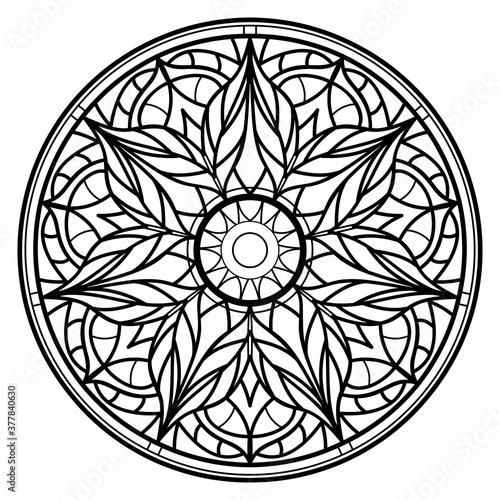 Fotografia Mandalas for coloring book