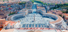 Famous Saint Peter's Square In...