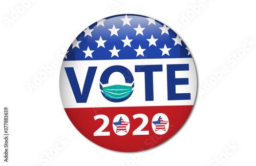 Fototapeta Vote 2020 obraz