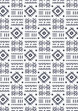 Seamless Handmade Ethnic Pattern