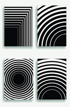 Abstract Hipster Lines Background . Vector Line Design .