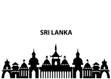 Srilankan Temple Isolated In W...
