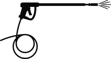 Pressure Washer Gun Icon , Vec...