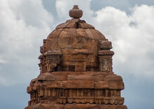 Temple Tower In Badami Made Fr...