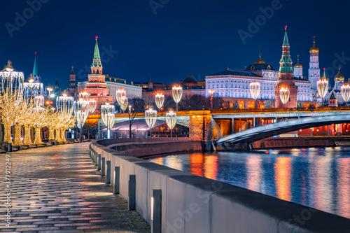 Fotografia Moscow at Christmas