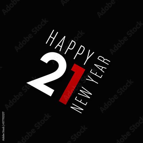 Fototapeta happy new year 2021 obraz