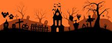 Happy Halloween Banner. Holida...