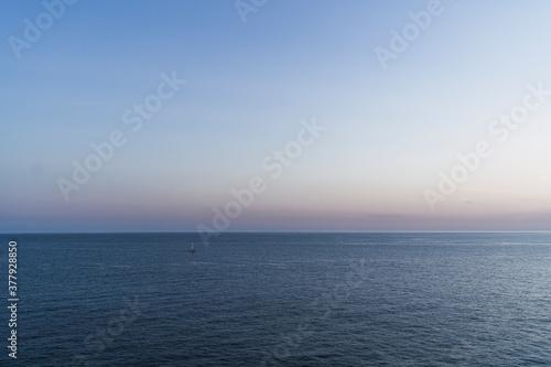 Photo Mar desde acantilado en cadiz