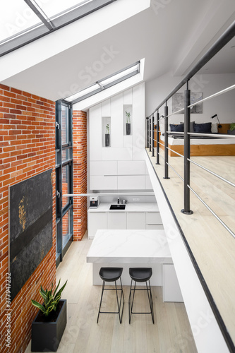 Stylish two floor loft apartment