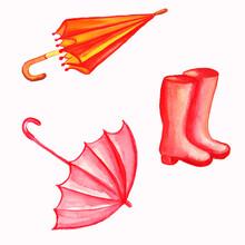 Autumn Watercolor Clip Art Aut...